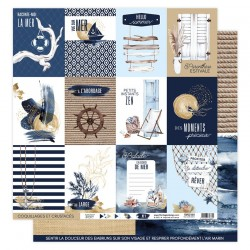 Florilèges Design - Carte Vue sur Mer - N.1