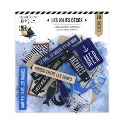 Florileges Design - Abbellimenti Acrilici - Vue sur Mer