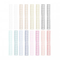 We R Memory Keepers - 8 Spirali metalliche 0.625 inch