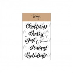 Tommy Art - Timbri Clear - Merry Christmas