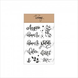Tommy Art - Timbri Clear - Buone feste