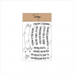 Tommy Art - Timbri Clear - Auguri Natalosi