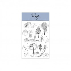 Tommy Art - Timbri Clear - Snowglobe Landscape