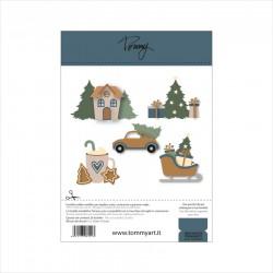 Tommy Art - Fustella - Mini Winter Ornaments