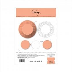 Tommy Art - Fustella - Circle & Stitching