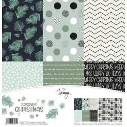 "Tommy Art - Kit Carte 12x12"" - Peppermint Christmas"