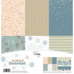 "Tommy Art - Kit Carte 12x12"" - Winter Wonderland"