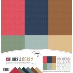 """Tommy Art - Kit Carte 12x12"""" - Colors & Dots 2"""
