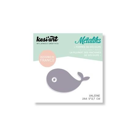 mini métaliks baleine