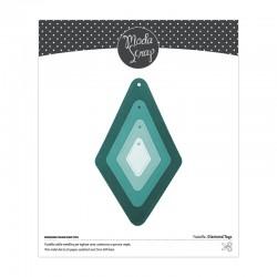 ModaScrap - Fustella - DIAMOND TAGS