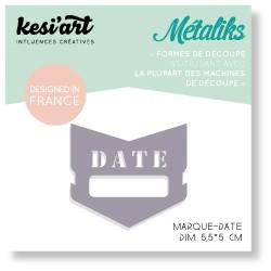 Fustella Kesi'Art - Métaliks mini marque-date