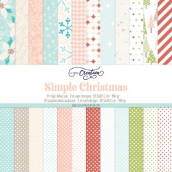 La Coppia Creativa - Pad SIMPLE CHRISTMAS