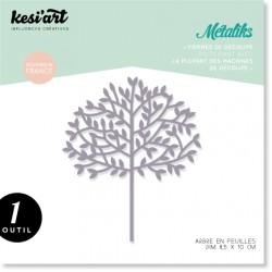 Fustella Kesi'Art - Métaliks arbre en feuilles