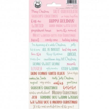 P13 - Sticker sheet -  Cosy Winter MIS01
