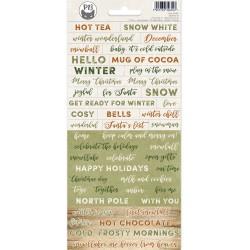 P13 - Sticker sheet 01-  Cosy Winter