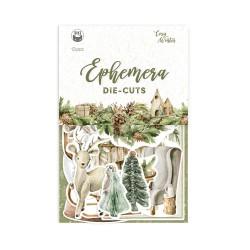 P13 - Paper die cut Ephemera - Cosy Winter