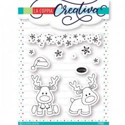 Timbri La Coppia Creativa - Renne Di Natale
