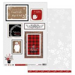 Florileges Design - Carte - Christmas Cocooning 6