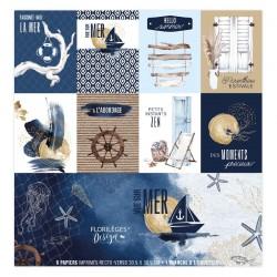 Florilèges Design -  Kit Carte Unis -  Vue sur Mer