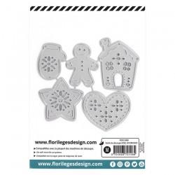 Florileges Design - Fustella - CERCLES À BRODER D'HIVER