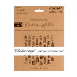 Vaessen Creative - Embossing folder - presents