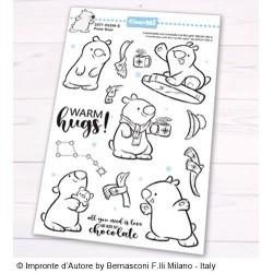 Impronte d'Autore - Timbri Clear - Polar Bear