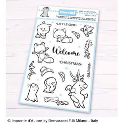 Impronte d'Autore - Timbri Clear - Baby Polar Friends