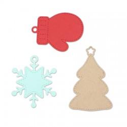 Impronte d'Autore - Fustella - Tag natalizie