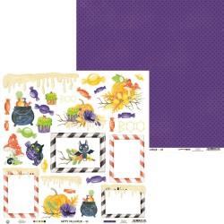"P13 - Carte 12x12"" - Happy Halloween - 04"