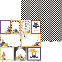 "P13 - Carte 12x12"" - Happy Halloween - 05"