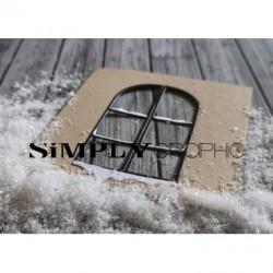 Simply Graphic - Fustella - Fenêtre Enneigée
