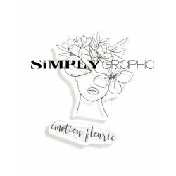 Simply Graphic - Timbri Clear - Émotion Fleurie