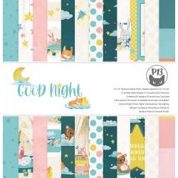 "P13 - Pad Good Night - 12x12"""
