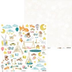 "P13 - Carte 12x12"" - Good Night - 07"