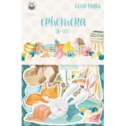 P13 - Paper die cut Ephemera - Good Night