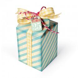Fustella Sizzix Thinlits - Box, Milk Carton