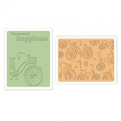 Embossing Folder -  Bicycles Set