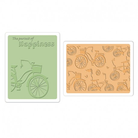 Fustella Sizzix Bicycles Set