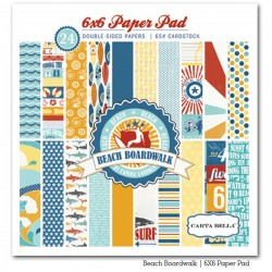 Carta bella 6x6 pad - Beach boardwalk