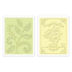 Fustella Sizzix Ferns & Seed Packet Set