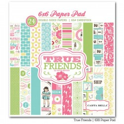 Carta bella 6x6 pad - True friends
