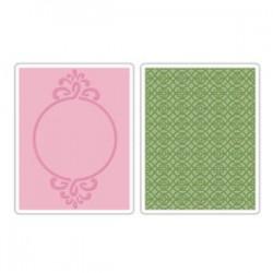 Fustella Sizzix Circle Frame& Sparkling Set