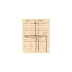 Timbro legno Florileges - Quatre blocs journaling
