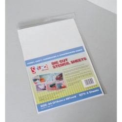 Die cut stencil sheets - Stix2