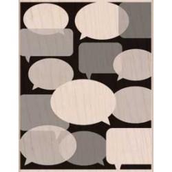 Timbro legno Hero Arts - Conversation Background