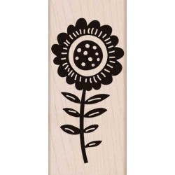Timbro legno Hero Arts - Big Bold Flower