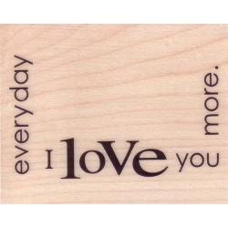 Timbro legno Penny Black - Declaration