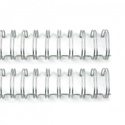 We R Memory keepers - 2 Spirali metalliche argento 5/8