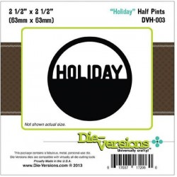 Fustella Die versions - Holiday