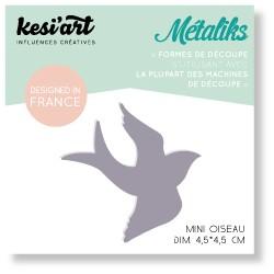 Fustella Kesi'Art - Métaliks mini oiseau